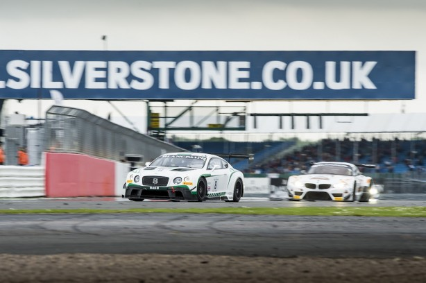 Top ten finishes for Bentley at Silverstone (4)