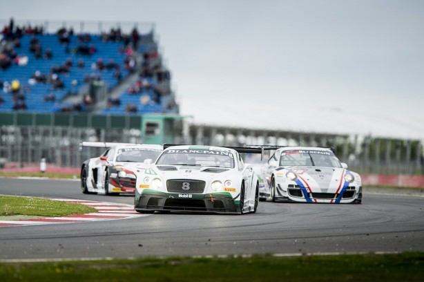 Top ten finishes for Bentley at Silverstone (5)