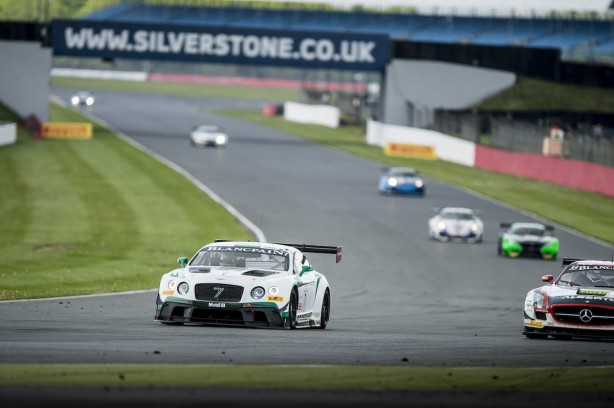 Top ten finishes for Bentley at Silverstone (7)