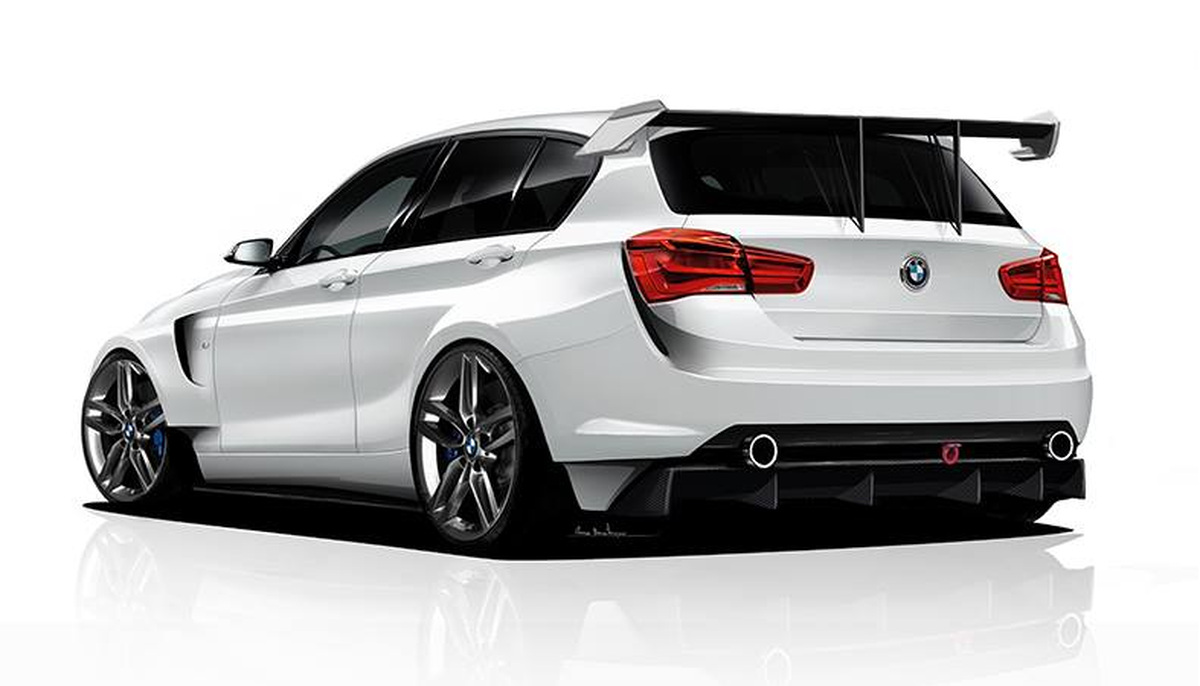 adf motorsport envisions bmw 1 series racing version. Black Bedroom Furniture Sets. Home Design Ideas