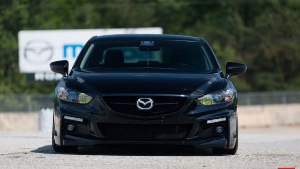 vossen-wheels-tuned-mazda6-sedan-front