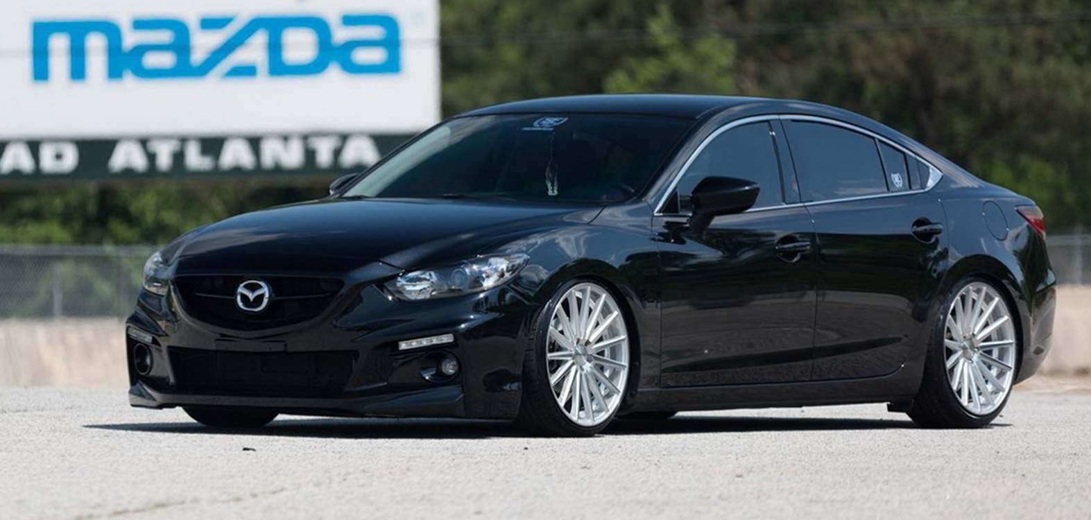 Mazda Tuning Mazda6 Goes Aggressive With Vossen Wheels