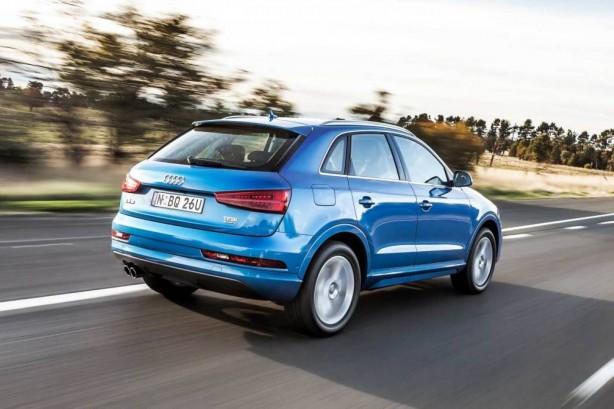 2015 Audi Q3 rear quarter