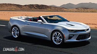 2016 Chevrolet Camaro Convertible leaked image front quarter-1
