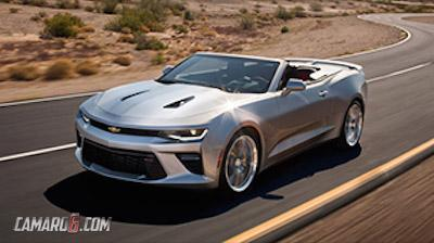 2016 Chevrolet Camaro Convertible leaked image front quarter