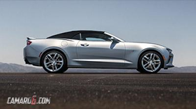 2016 Chevrolet Camaro Convertible leaked image side