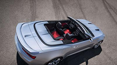 2016 Chevrolet Camaro Convertible leaked image top