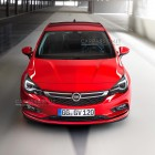 2016 Opel Astra leaked image front
