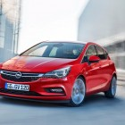 2016 Opel Astra leaked image front quarter-2