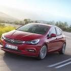 2016 Opel:Holden Astra front quarter