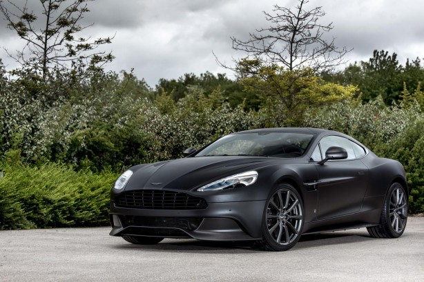 Aston Martin Vanquish One of Seven front quarter