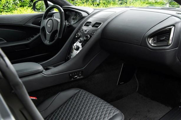 Aston Martin Vanquish One of Seven interior