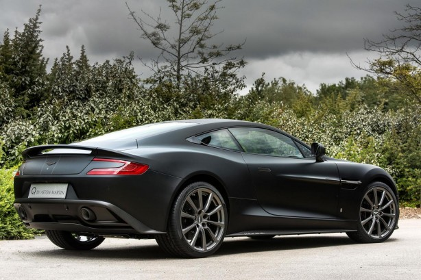 Aston Martin Vanquish One of Seven rear quarter