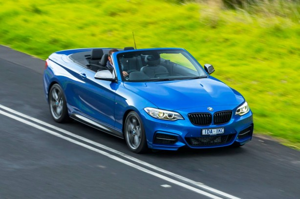 BMW M235i Convertible front