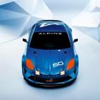 Renault Alpine Celebration concept front