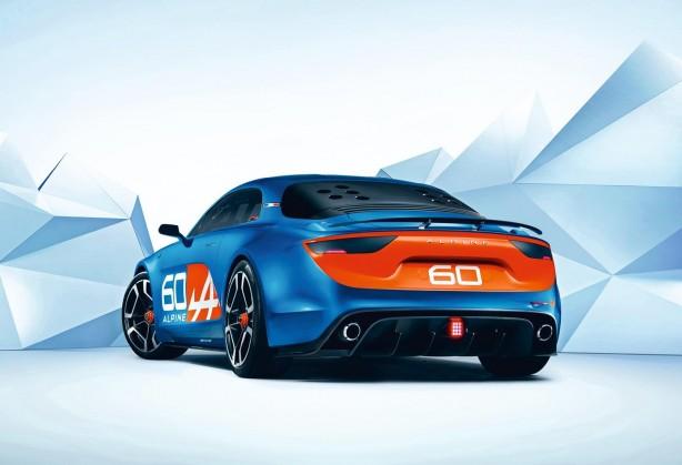 Renault Alpine Celebration concept rear quarter-1
