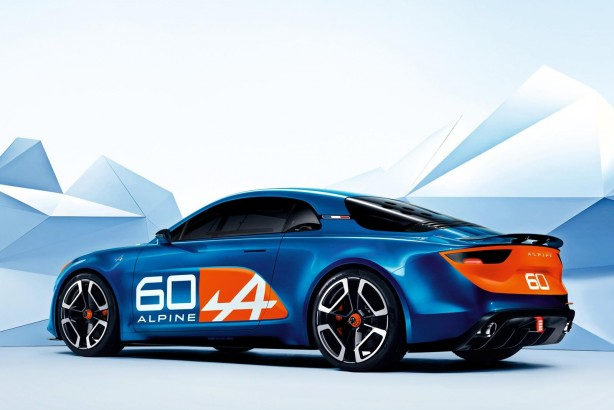 Renault Alpine Celebration concept rear quarter