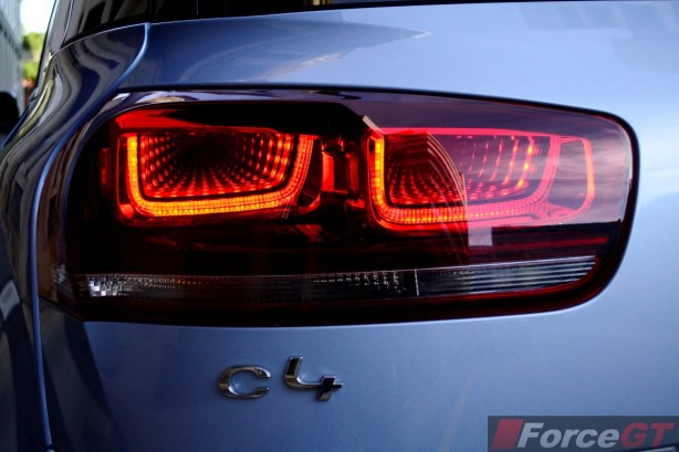 2015 Citroen C4 Picasso 3D tail light