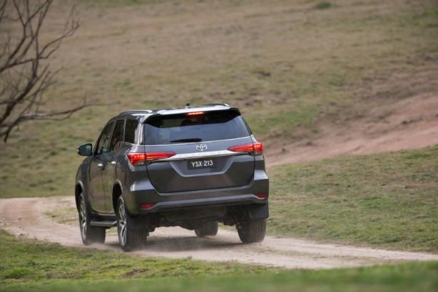 2015 Toyota Fortuner rear