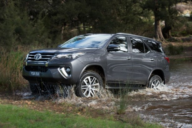 2015 Toyota Fortuner side