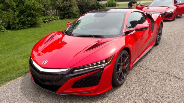 2016 Honda NSX pre-production front