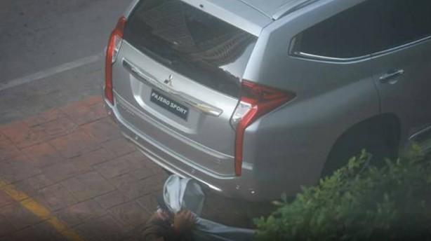 2016 Mitsubishi Challenger spy photo rear