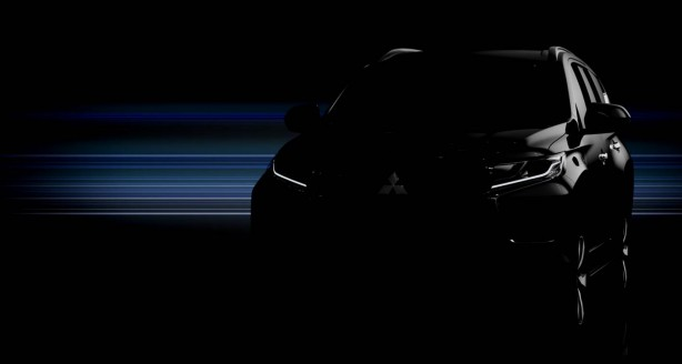 2016 Mitsubishi Challenger teaser image