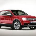 2016 Volkswagen Tiguan render front quarter