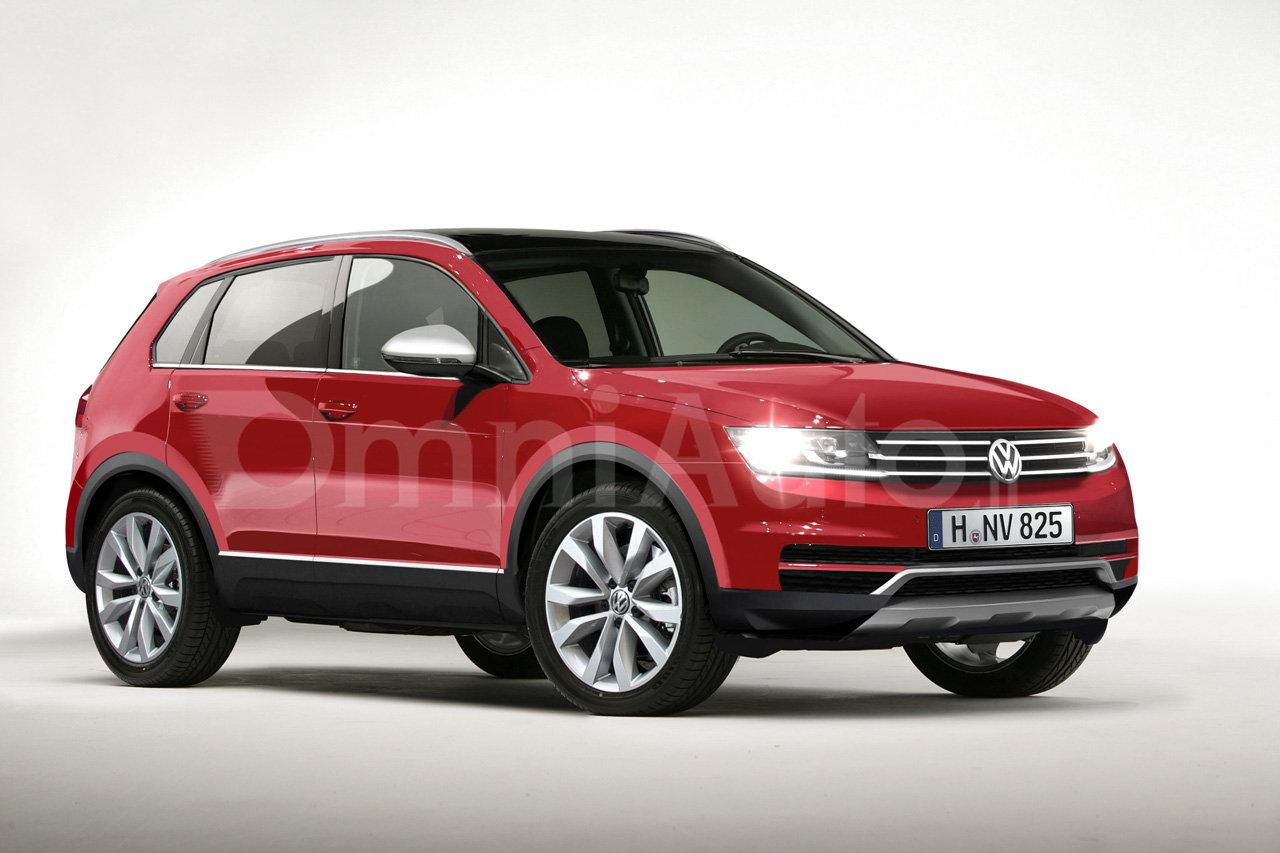 2016 volkswagen tiguan realistically rendered debuts at frankfurt. Black Bedroom Furniture Sets. Home Design Ideas