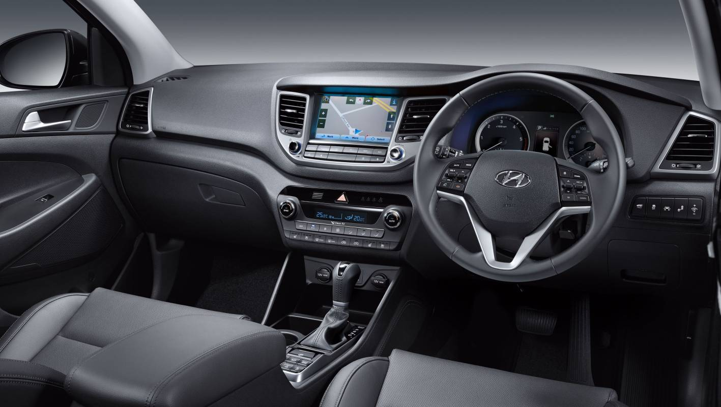 hyundai cars news hyundai tucson launched from 27 990. Black Bedroom Furniture Sets. Home Design Ideas