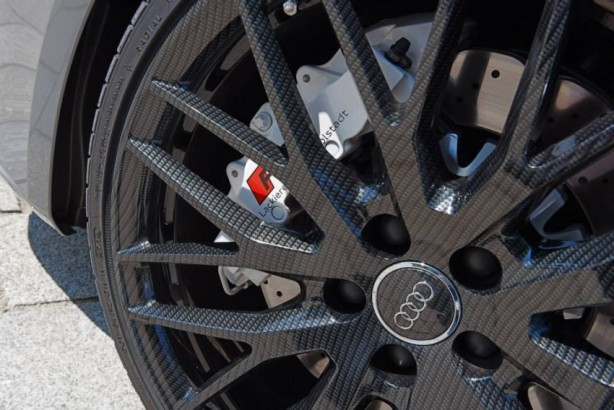 Audi Forum Ingolstadt Audi RS3 Sportback carbon wheel