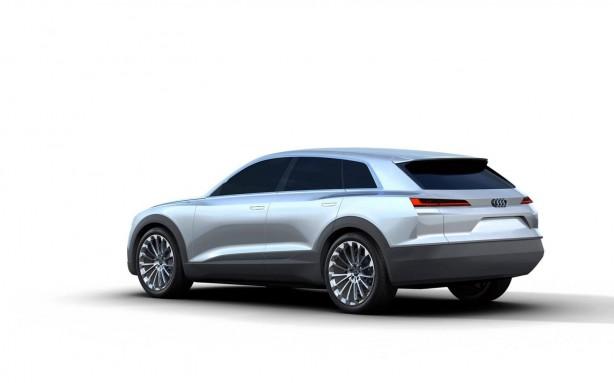 Audi Q6 rendering rear quarter