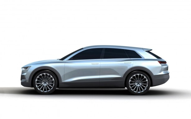 Audi Q6 rendering side