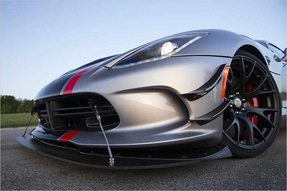 Dodge Viper Acr Front Splitter Forcegt Com