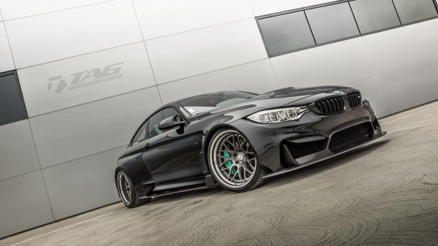 HRE-Wheels-BMW-M4-F82-Tuning-TAG-Motorsports-front-quarter