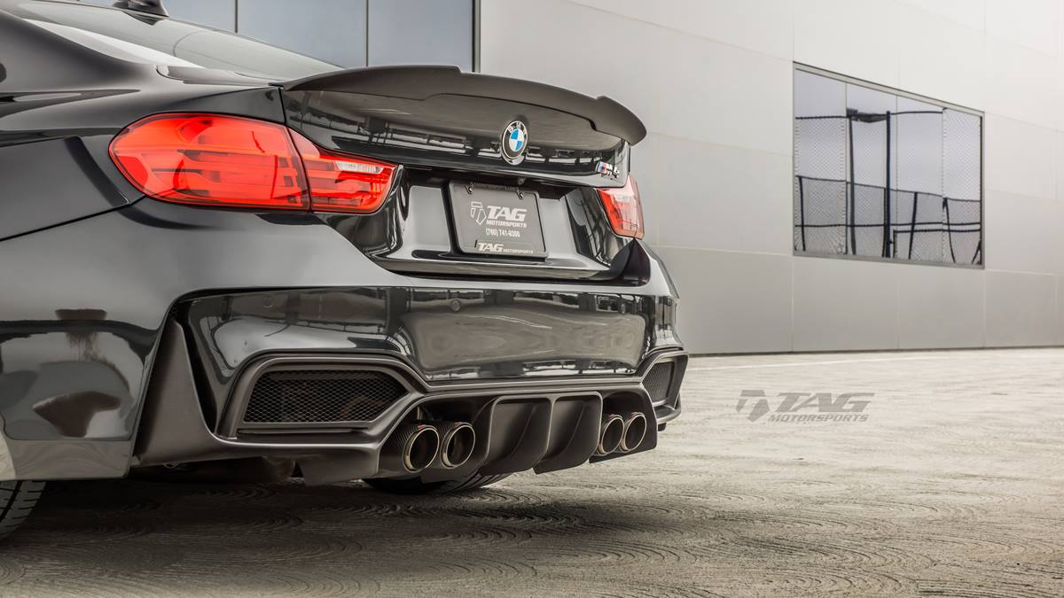 Hre Wheels Bmw M4 F82 Tuning Tag Motorsports Rear Bumper