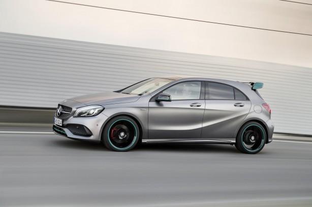 Mercedes AMG A 45 side