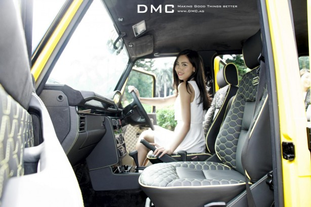 Mercedes G88 by DMC front seats