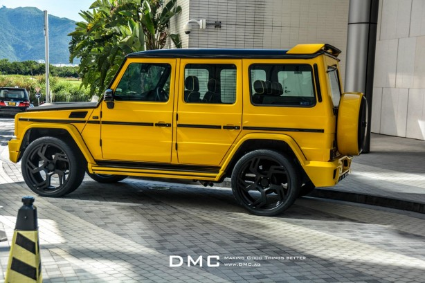 Mercedes G88 by DMC side