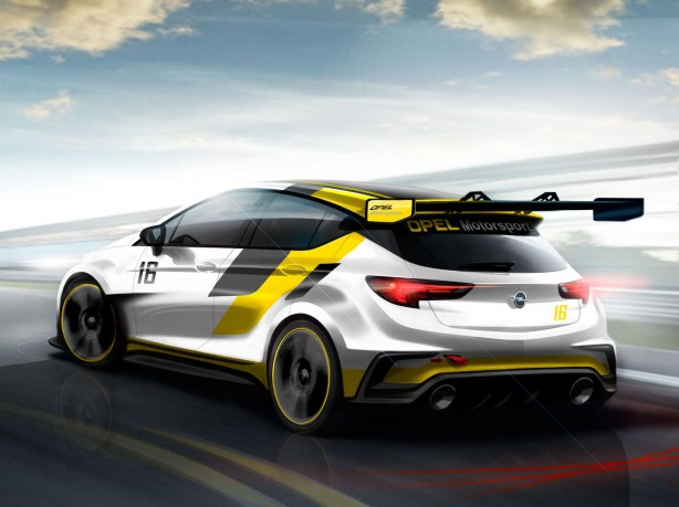 Opel-Astra-TCR-rear