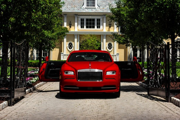 Rolls Royce Wraith St. James Edition front