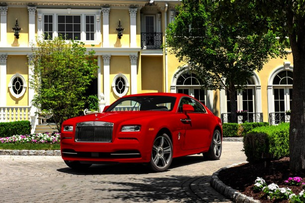 Rolls Royce Wraith St. James Edition front quarter