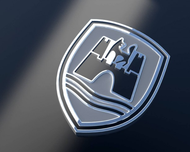 Volkswagen Golf R Wagon Wolfsburg Edition badge