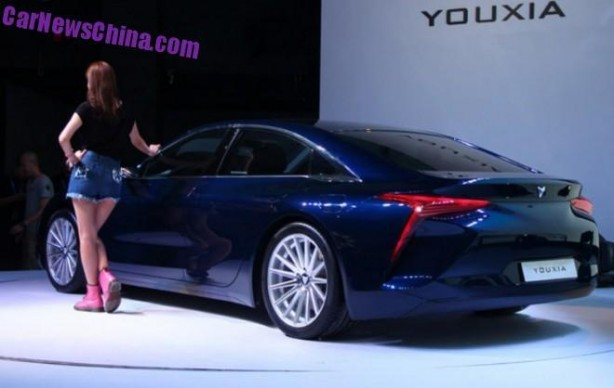 Youxia X rear quarter