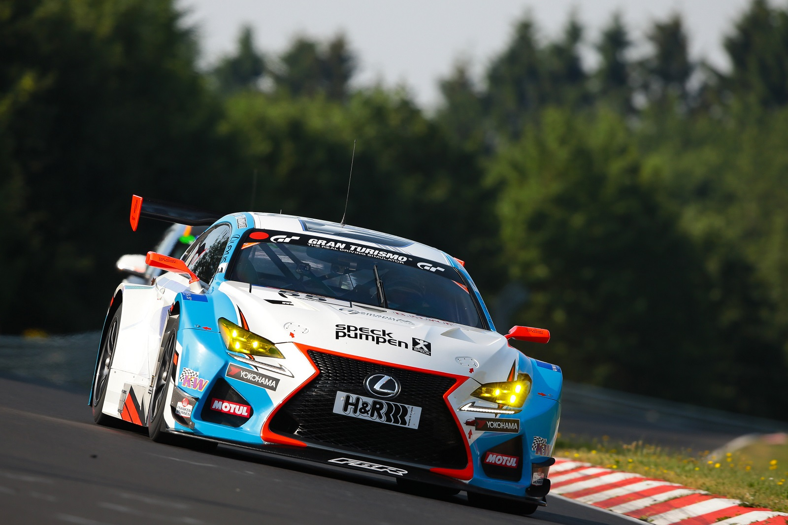Lexus RC F GT3 snatches class victory on VLN Series debut - ForceGT.com