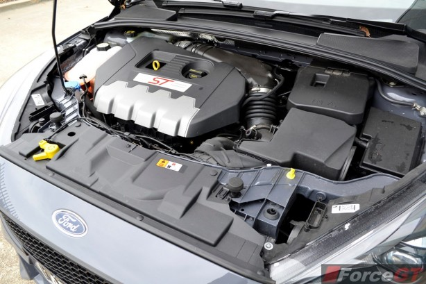 2015 Ford Focus ST engine