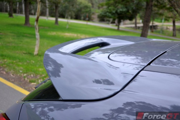 2015 Ford Focus ST rear spoiler