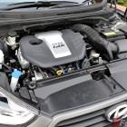 2015 Hyundai Veloster SR matte grey engine