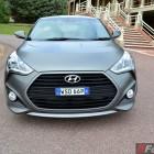 2015 Hyundai Veloster SR matte grey front