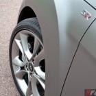 2015 Hyundai Veloster SR matte grey wheel